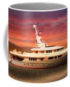 Triton Yacht Coffee Mug by Aaron Berg