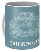 Triumph Gt6 Plus Coffee Mug
