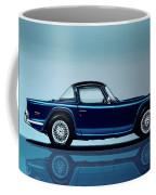 Triumph Tr5 1968 Painting Coffee Mug