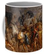 Triumphal Entry Of Henry Iv In Paris Coffee Mug
