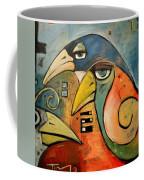 Trois Oiseaux Coffee Mug