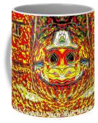 Bizzarre Pumpkin Head Coffee Mug