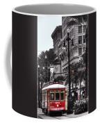 Trolley On Bourbon And Canal  Coffee Mug