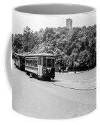 Trolley With Cloisters Coffee Mug