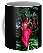 Anthurium Red Tropical Flower Coffee Mug