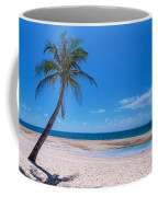 Tropical Blue Skies And White Sand Beaches Coffee Mug