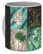 Tropical Dance Square By Madart Coffee Mug