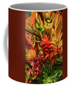 Tropical Flowers Coffee Mug