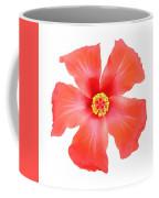 Tropical Hibiscus Flower Vector Coffee Mug
