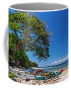 Tropical Island Panorama Paradise Coffee Mug
