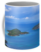 Tropical Islands In The Caribbean Sea Coffee Mug