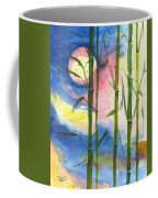 Tropical Moonlight And Bamboo Coffee Mug