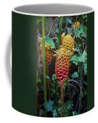 Tropical Mystery Plant Coffee Mug