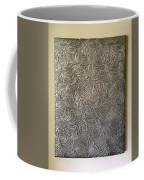 Tropical Palms Canvas Silver - 16x20 Hand Painted Coffee Mug