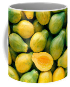 Tropical Papayas Coffee Mug