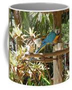 Tropical Parrot Coffee Mug