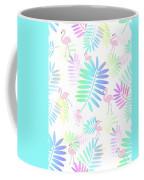 Tropical Pink Flamingos Coffee Mug