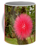 Tropical Red Puff Coffee Mug