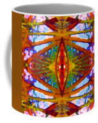 Tropical Stained Glass Coffee Mug