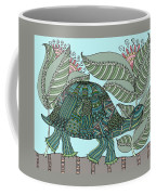 Tropical Turtle Coffee Mug