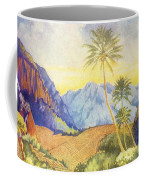 Tropical Vintage Hawaii Coffee Mug