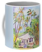 Tropical Waimea Cottage Coffee Mug by Marionette Taboniar