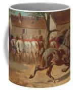 Trotting A Horse Coffee Mug