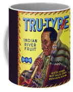 Tru - Type Vintage Fruit Crate Label Coffee Mug
