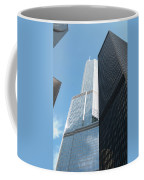 Trump Building From Other Side Coffee Mug