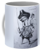 Trump, Short Fingers Pirate With Ryan, The Bird  Coffee Mug