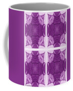 Trumpet Flowers In Abstract Coffee Mug