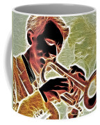Trumpet Coffee Mug by Stephen Younts