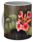 Trumpet Vine II Coffee Mug by Katherine Miller