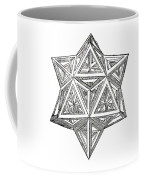 Truncated And Elevated Hexahedron With Open Faces Coffee Mug