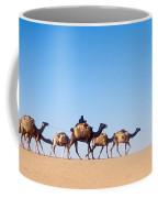Tuareg Journey Across The Desert Coffee Mug
