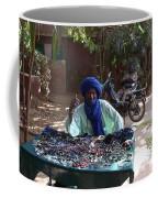 Tuareg Man Selling Jewelry Coffee Mug