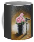 Tub Of Roses Coffee Mug