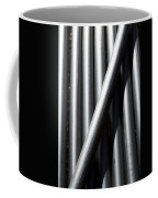 Tubular Abstract Art  Number 5 Shadow And Light  Coffee Mug