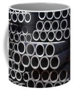 Tubular Abstract Art Number 7 Coffee Mug