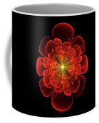 Tudor Rose - Abstract Coffee Mug