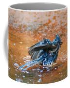Tufted Titmouse Bath Coffee Mug