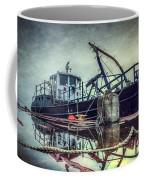 Tug In The Fog Coffee Mug