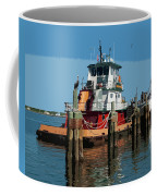Tug Indian River At Port Canaveral In Florida Usa Coffee Mug