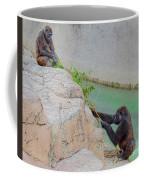 Tug-o-war Western Gorillas Coffee Mug