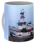Tugboat At Twilight Coffee Mug