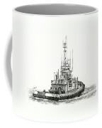 Tugboat Daniel Foss Coffee Mug