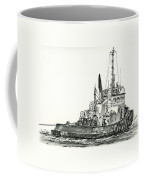 Tugboat David Foss Coffee Mug