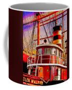 Tugboat Helen Mcallister Coffee Mug by Chris Lord