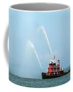 Tugboat's Welcome Salute Coffee Mug