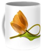 Tulip Art On White Background Coffee Mug